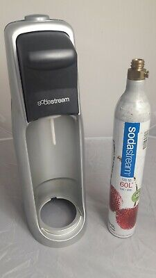SodaStream JET Carbonated Drink Maker Grey + Gas Cartridge/Cylinder - NEED CLEAN