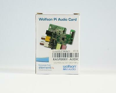 RASPBERRY PI WOLFSON Audio Sound Card - $58 03 | PicClick