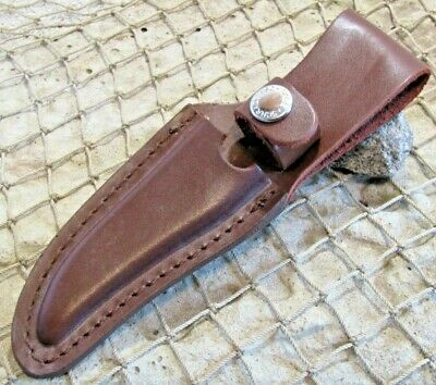 Leather Sheath Schrade Old Timer 152OT Fixed Blade Knife *NO KNIFE*