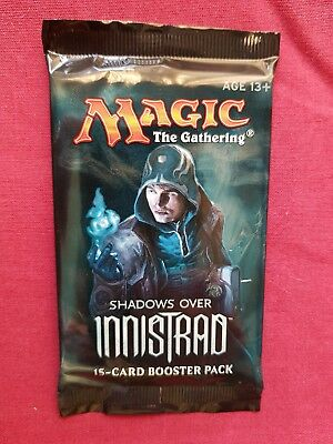 Magic The Gathering SHADOWS OVER INNISTRAD New Sealed Booster Pack MTG