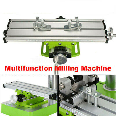 Multifunction Milling Machine Compound Work Table Cross Slide Bench Drill Press