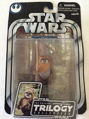 Wicket (Bent Card) - Trilogy Collection Star Wars Figure