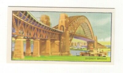 Confectionery Travel Trade Card 1954 - Sydney Harbour Bridge, Australia