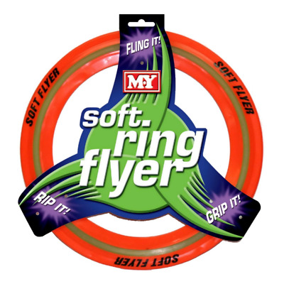 NEW Soft Frisbee Flying Ring | Kids Beach Frisbees Outdoor Toys | ihartTOYS