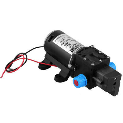12V 100W High Pressure Self Priming Water Pump 160Psi 8Lpm Caravan Camping B 6X5
