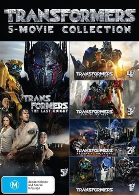 Transformers: 5-movie Collection  DVD   New & Sealed