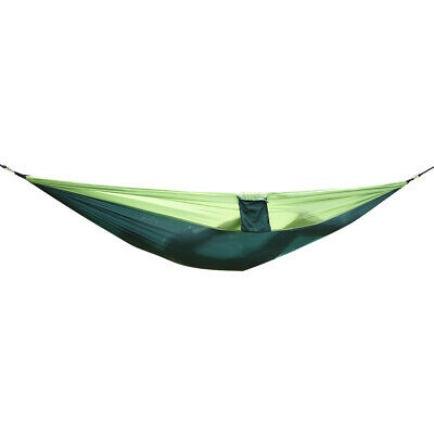 Outdoor Portable Nylon Parachute Fabric Hammock for Two Person Travel Camping US
