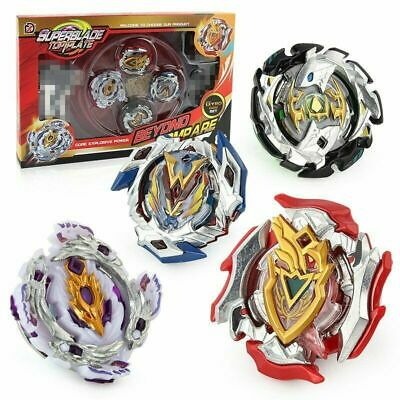 4x Boxed Bay blade Beyblade Burst Set With Launcher Arena Metal Fight Battle AU