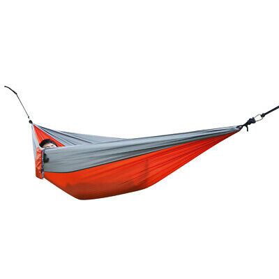 Outdoor Portable Nylon Parachute Fabric Hammock for Two Person Travel Camping