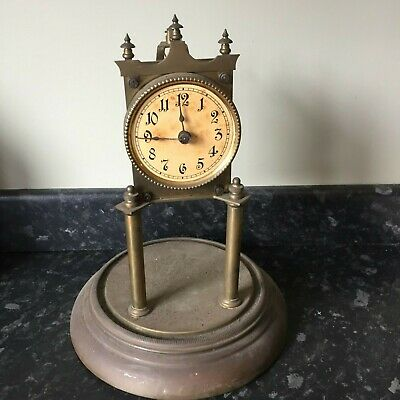 A 400Day Torsion Clock For Restoration / Spares Or Repair