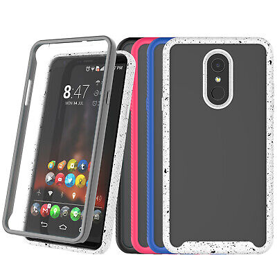 CLEAR HYBRID COVER For LG Stylo 4 / Stylo 4 Plus / Q Stylus
