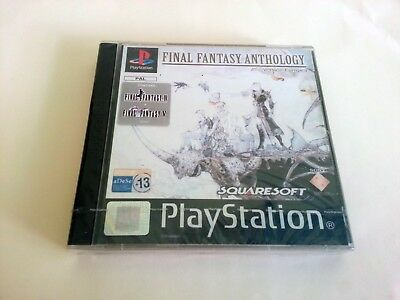 NUEVO PRECINTADO Final Fantasy Anthology Playstation PAL ESPAÑOL