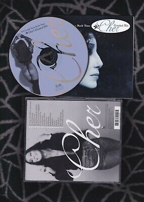 CD CHER If I Could Turn Back time Greatest Hits/The Best Of 274464070000