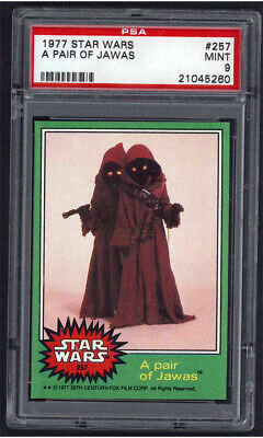 1977 Topps Star Wars #257, A pair of Jawas PSA 9 MINT