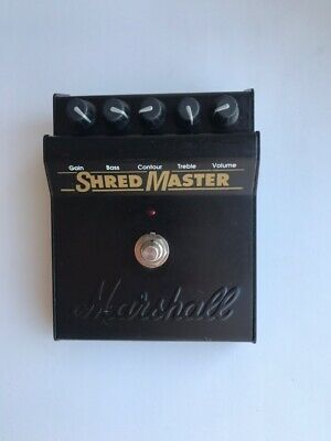 Marshall Shred master Distortion Guitar Effect Pedal  excellent condition!