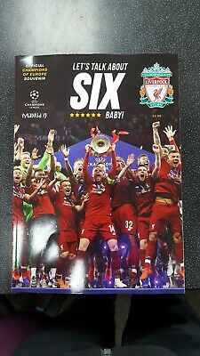 Liverpool Official Champions League 2019 Magazine Free 1St Class Post