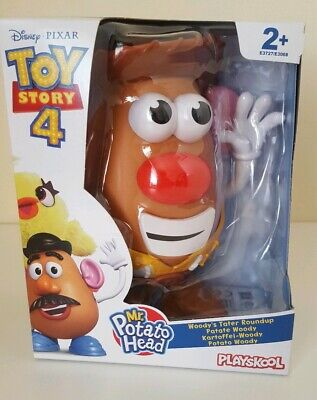 Playskool Toy Story 4 Disney Pixar Mr Potato Head Woody 2+