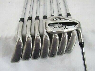 NEW 2019 TITLEIST AP1 718 Irons 4-PW, 48 True Temper AMT Red R-300
