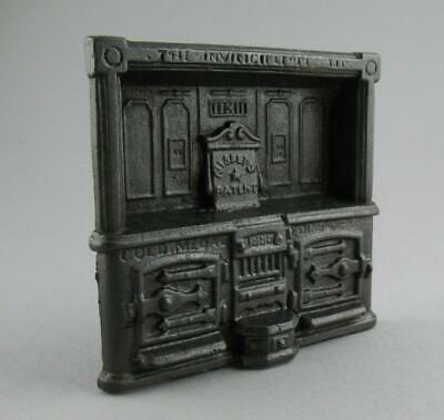 Antique Victorian Cast Iron Advertising Display Stand Nisbets Patent Range Oven