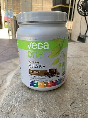 Vega One All-In-One Plant Based Protein Powder Chocolate Shake 16 OUNCES