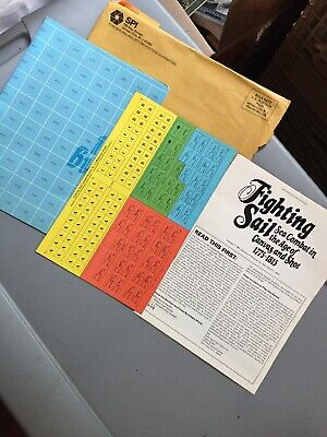 SPI S&T Strategy & Tactics #85  Fighting Sail  Unpunched