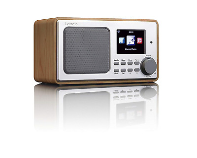 Lenco DIR-100 DAB PLL FM Internet Radio with USB Playback/Remote Control and EQ