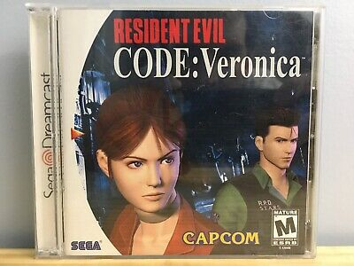 Resident Evil Code: Veronica Sega Dreamcast COMPLETE and TESTED!