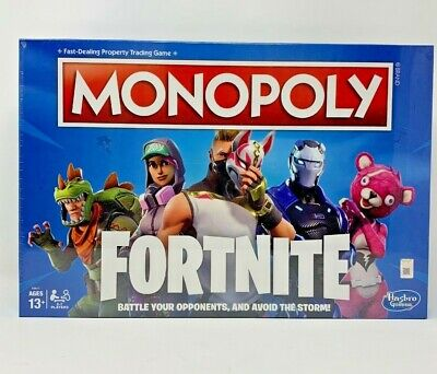 Monopoly Fortnite LIMITED EDITION Hasbro Board Game NEW