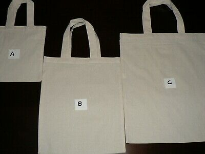 Calico Bags With Handle (Bulk) 5, 10, 15, 25, 50,100