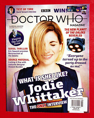 BBC DOCTOR WHO MAGAZINE July 2019 Jodie Whittaker WHAT IS SHE LIKE? #539