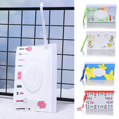 Baby Product Cosmetic Pouch Stroller Accessories Tissue Box Wet Wipes Bag