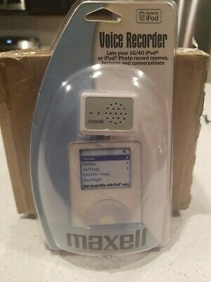 Maxwell Voice Recorder For Ipod new