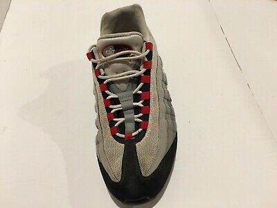Nike Air Max 95  2009 Men  Gray/ Red /black Left Amputee Size 12 609048-165.