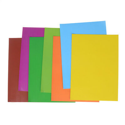 7 Color Rubber Magnet Self Adhesive Flexible Magnetic Sheet A4 Magnetic Paper 3C