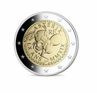 2€ 2 Euro Commemorativa Francia 2019 Be – Asterix