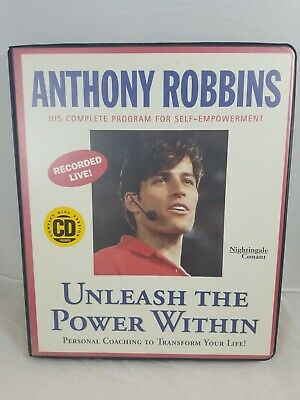 UNLEASH THE POWER WITHIN:  Personal Coaching from Anthony Robbins/Self Empower
