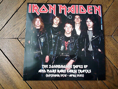 IRON MAIDEN The soundhouse tapes EP & more rare early tracks 78-80 LP 15 titres