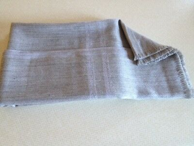 GUCCI 100% Wool Grey Scarf Unisex