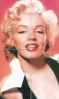 Touch Tone Phone Ltd Edition 4 Puzzle Cards Of Marilyn Monroe Scarce  W17