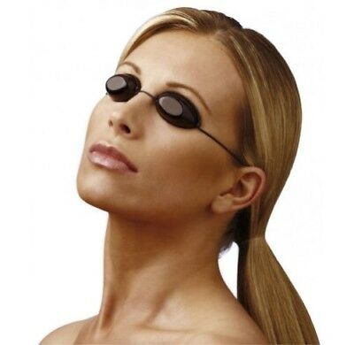 SUNBED GOGGLES TANNING BED UV EYE PROTECTION SLIM LINE ELASTIC iGOGGLES
