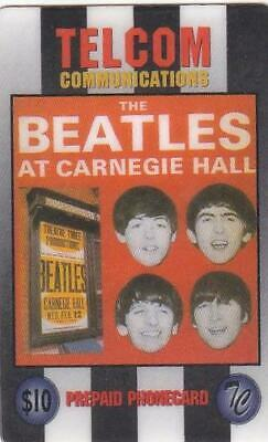 Beatles $10 Telcom Communications At Carnegie Hall Early And Rare Exp 1997  Y12