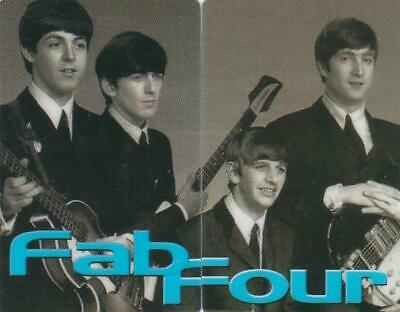 Beatles 10 Units Mint The Fab Four Pair And Rare Exp 1997  Y13