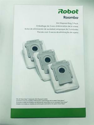 NEW iRobot Roomba Dirt Disposal Bag 3 Pack Fits All Clean Base Models i7+ Vacuum