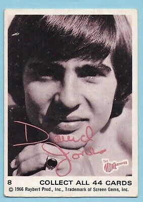 1966  Scanlens/Raybert Productions  Card:  THE  MONKEES  ....  #588