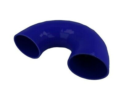 Silicone elbow 180°, 80mm, blue | BOOST products