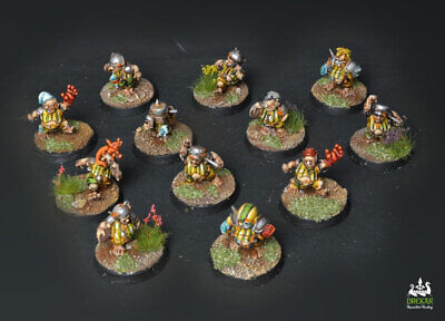 The Greenfield Grasshuggers blood bowl  ** COMMISSION ** painting
