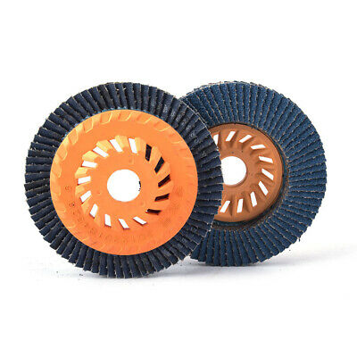 2Pcs 4 Inch Zirconia Flap Sanding Disc Grinding Wheel for Angle Grinder 60 Grit