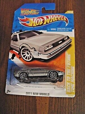 2011 Hot Wheels Back To The Future Time Machine NEW MODELS 18/50