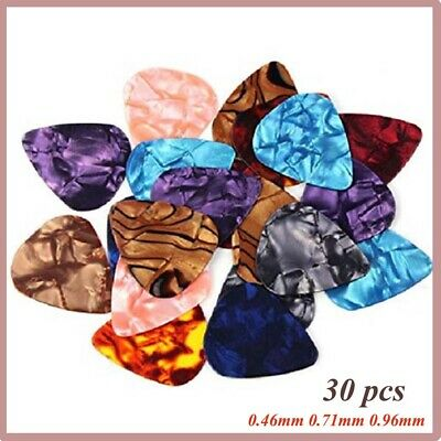 Professional Acoustic Fashion Electric Plectrums Ukulele Guitar Picks Celluloid