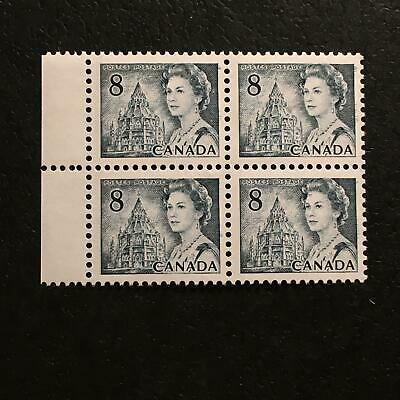 """MNH SC#544pviii """"scratch on forehead"""" block of four"""